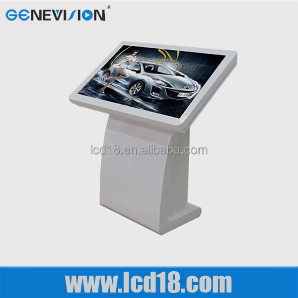 High quality LG panel 52 inch touch screen android4.2 wifi display free standing lcd advertising display