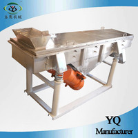 rotary vibrating flour sieve machine with circular vibration motion