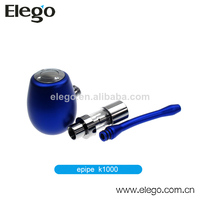 2014 Fancy electronic cigarette pipe k1000 mechanical mod kamry K1000 e cig starter kit purple