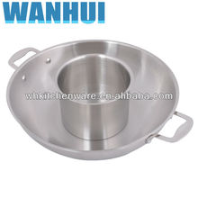 Induction Ready Stainless steel porcelain enamel cookware