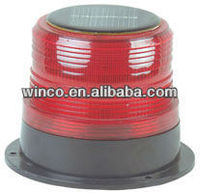 solar power caution light