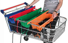 Hot sale grocery trolley bag reusable supermarket shopping cart bag