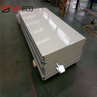 Easy Installation Insulated Bulding Material PU Sandwich Panel Price