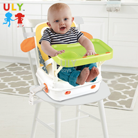 3 in 1 Baby folding high chair feed go booster baby dining chair