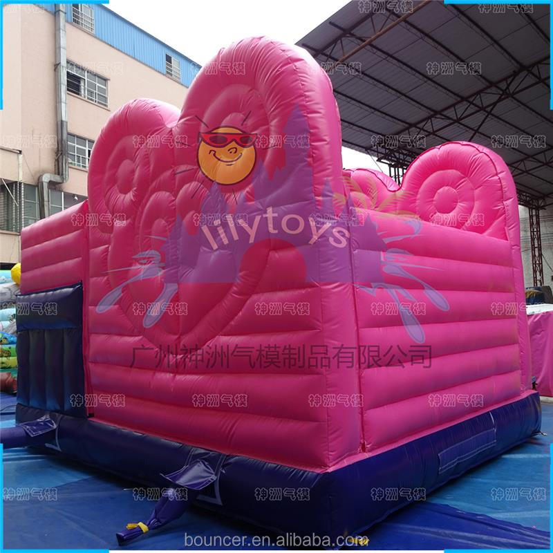 Lilytoys Inflatable Slide Bouncing & Sliding Inflatable Combination Mouse Theme