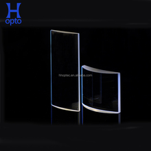 Fused silica glass laser protective optical lens for film projector