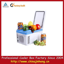Mini car cooler and warmer for promotion,portable auto mini fridge