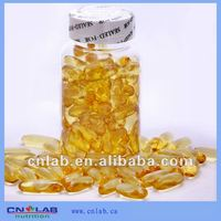DHA/EPA 75% pure fish oil capsules in bulk