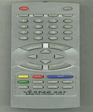 starsat satellite receiver remote control