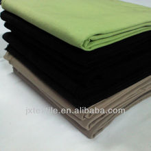 Solid heavy cotton twill fabric 7s*7s 72*44