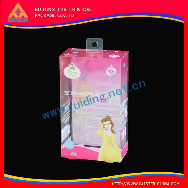 wholesale plastic package,printed pvc box,cosmetic packaging