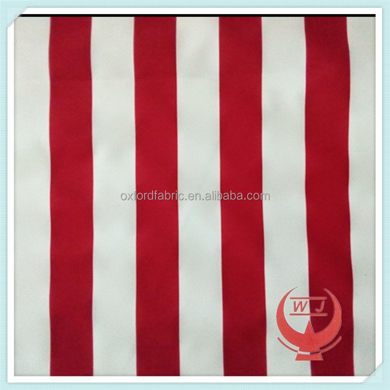 red white stripe waterproof awnings fabrics durable waterproof fabric