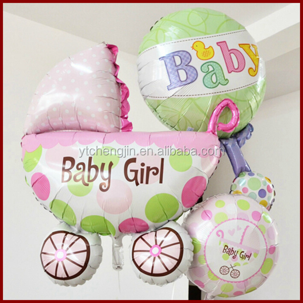 Customized custom shape helium foil balloons