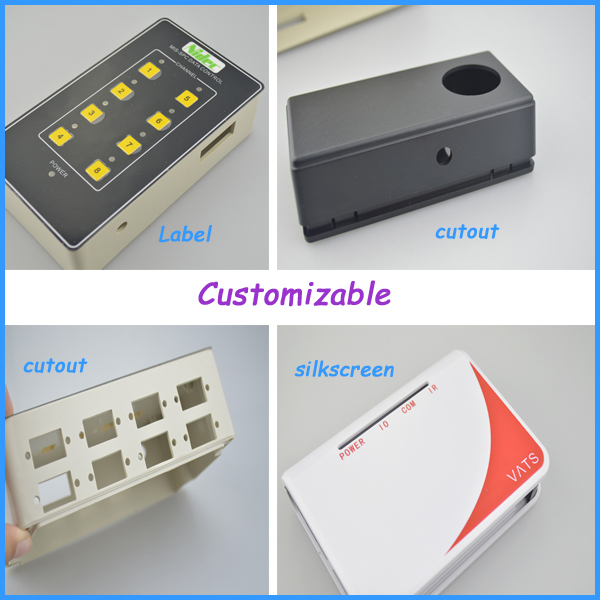 abs plastic enclosure handheld junction electronic box ip54