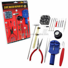 Watchmaker REPAIR TOOL KIT 21pc WATCH Links & Spring Removers Case Opener
