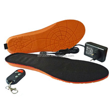 Winter Wireless Battery Electric Heated Insoles with Remote Control Heating Insole for Shoes