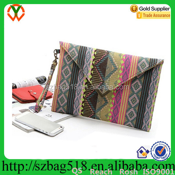 Women Ladies Envelope Clutch Handbag Purse Tote Bag
