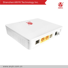 FTTH equipment GPON ONT 1GE+1FE+1POTS ONU compatible with Huawei Fiberhom ZTE OLT