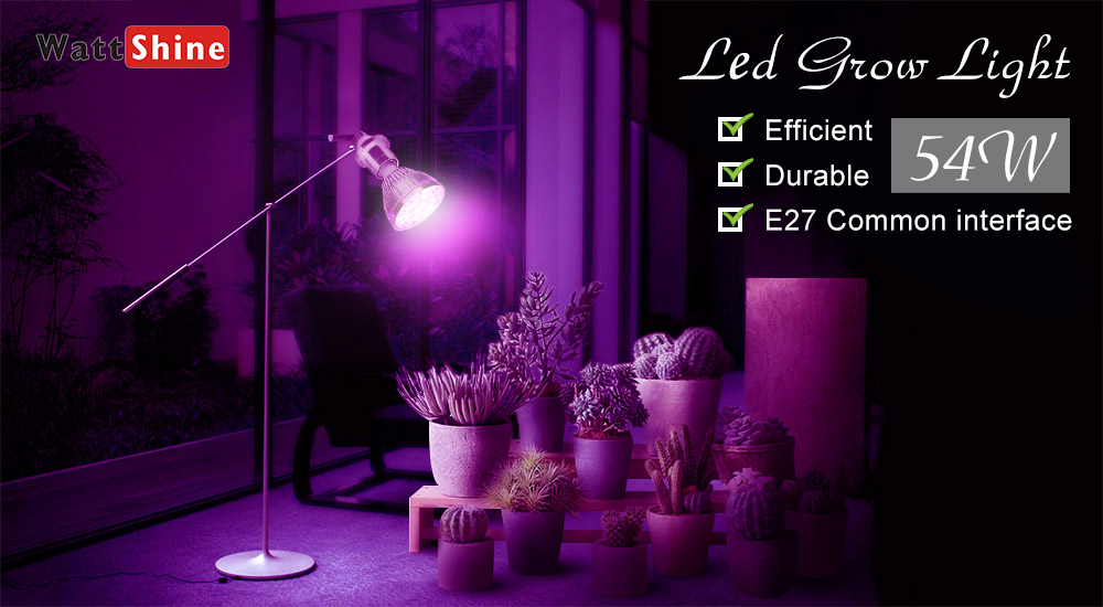 54W 36W LED Grow Light Indoor growing lights Hydroponics growing system For Garden Greenhouse plants Herbs Vegetable Flowers (10)
