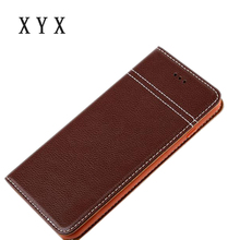litchi grain retro wallet case for iphone 7 mobile phone leather case