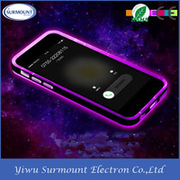 Hot New Colorful TPU Phone Case In Coming Call Light Up LED TPU Cell Phone Case
