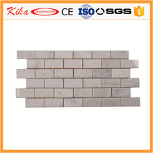 Wholesale White Italian Marble Subway Brick mosaics Tile Polished