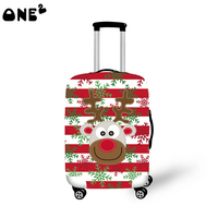 One2 new design cartoon high quality protective cover luggage suitcase girls lady women boys high school students