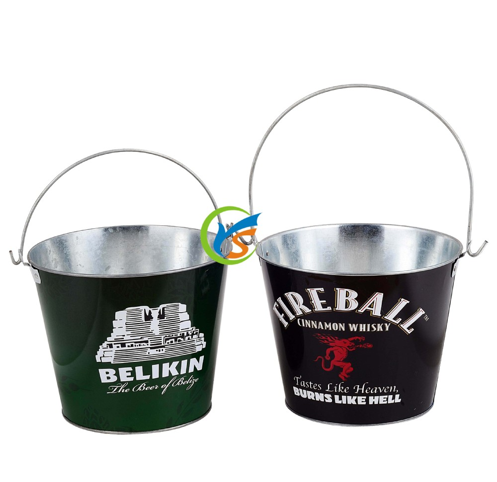 Mini metal ice bucket for promotion
