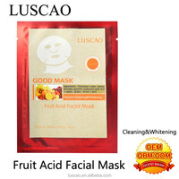Facial exerciser with fruit acid facial mask cleaning whitening