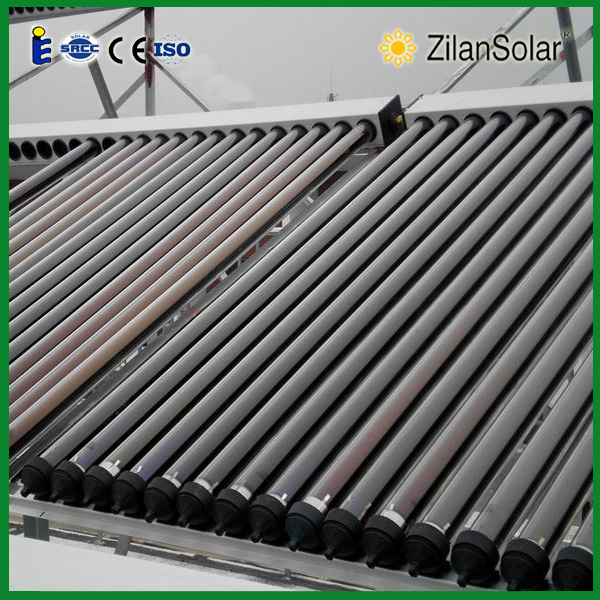 Solar thermal system Vacuum tube solar collector china manufacture