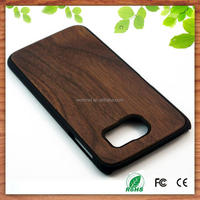 alibaba wholesale bamboo pc cell phone cover case for Samsung Galaxy S7 S7 Edge, for Samsung S7 bamboo case