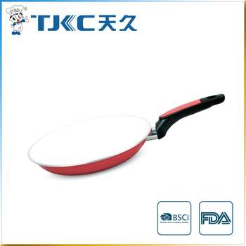 Ceramic Fry Pan with Wide Rim