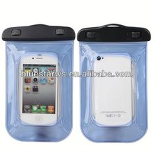new fashion waterproof bag for iphone4/4s cell phone protector case