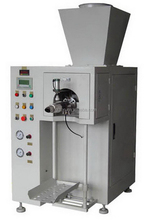 Automatic screw feed valve bag leather powder packing machine