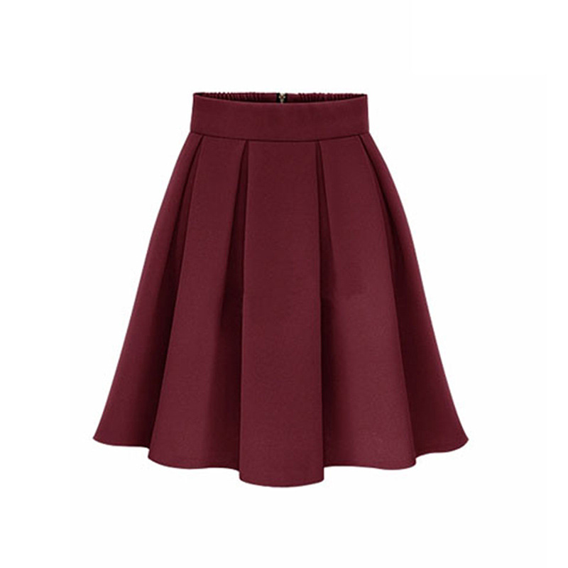 New European and American large size women's fashion autumn skirt A word skirt wild thin cross-border explosion models