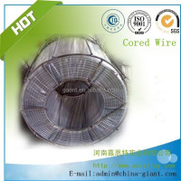 Anyang Giant Factory CaSi Cored Wire price