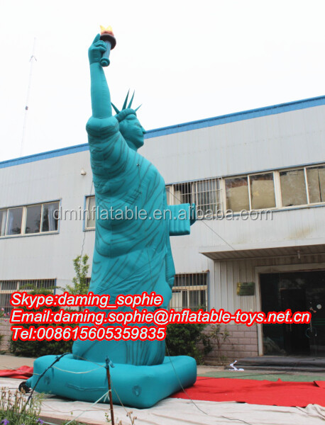 Giant Custom Inflatable Statue of Liberty