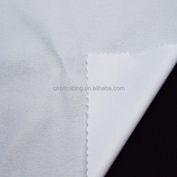 weft polyester T-Shirt fabric, jersey fabric breathable sports fabric wholesale