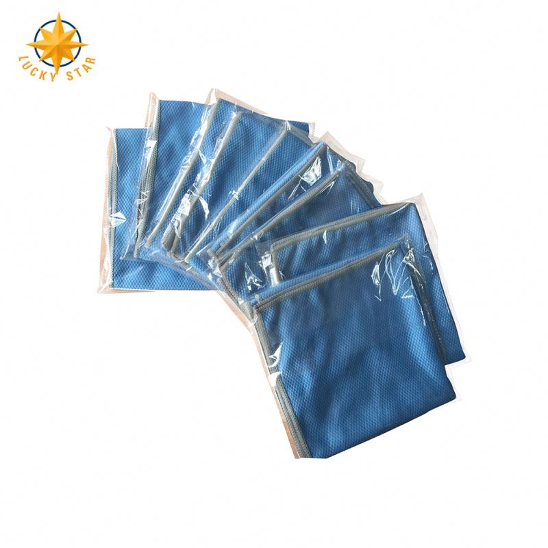 Household Eco-Friendly Absorbent Diamond Microfiber Cloth Towel
