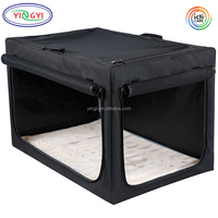 B694 Indoor/Outdoor Soft Portable Foldable Small Animal Cages Breathable Travel Pet Dog Home Crate Pet Cages Sale