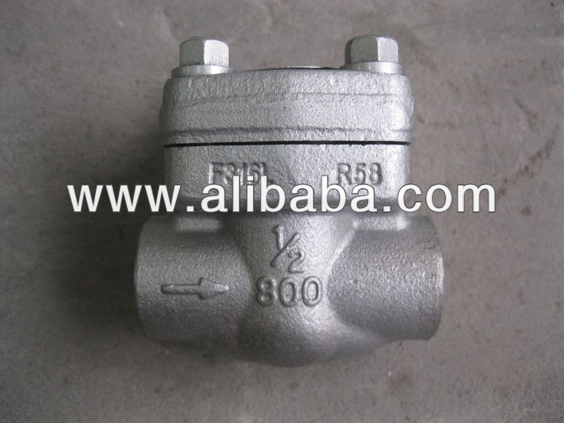 800LB Forged check valve(A105N,304,316)