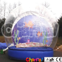 Inflatable Christmas Human Snow Globe for part and event