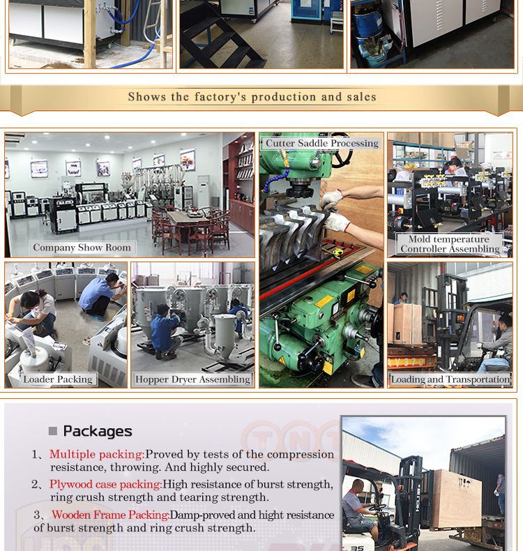 High Standard Water Cooled Chiller For Plastic Industry