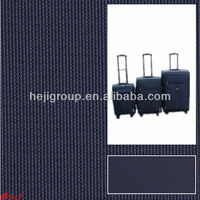 Supplier China mainland 100% polyester canvas bag/luggage textile fabric