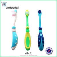 Ladybug Shape Wave Bristle Toothbrush Kids