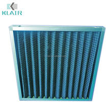 Active carbon air filter odor smoke removal for air conditioning ventilation system