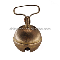 brass dog bells with 5 different sizes for hunting dogs (A600)