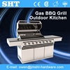 Factory Direct Industrial Gas Barbeque Stainless Steel Grill