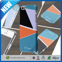 C&T Innovative plain pc plastic hard design protective case for apple iphone 6 plus