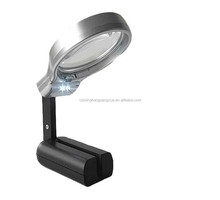 Minghao 3x Acrylic Material Desk Led Multifunctional Solder Magnifier